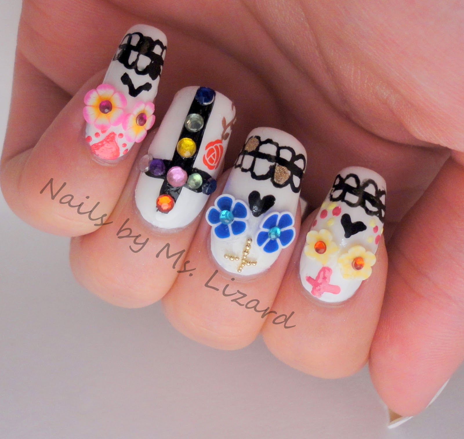 Nails by Ms. Lizard: Halloween Nail Art: recap
