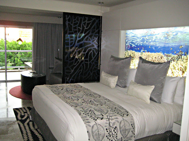 "Our room at the Paradisus Playa del Carmen ""La Perla"" resort"
