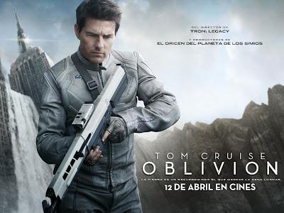 Cartel cine 'Oblivion'