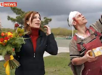 BYKOV dan Irena berkahwin semalam.