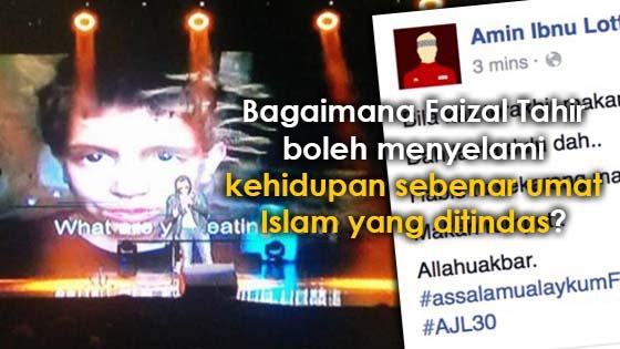 Persembahan Faizal Tahir di AJL30 Membuat Satu Dunia Terpegun