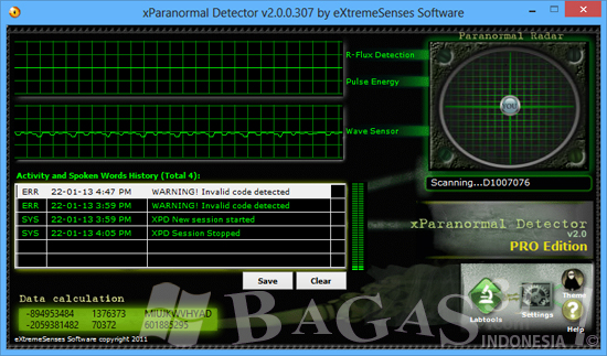 xParanormal Detector Pro 2.0 Full Serial 2