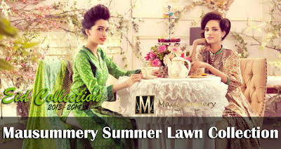 Mausummery Summer Lawn Collection 2013-2014 For Women