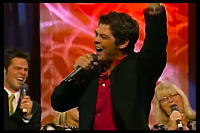 Screen Capture:  Jason Crabb at the 2004 Crabb Family Reunion