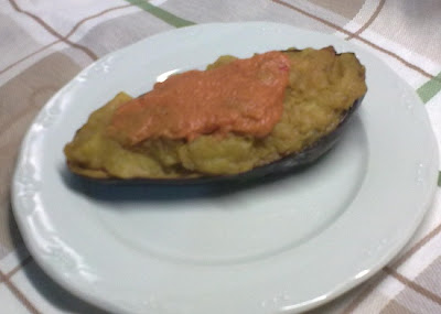 Berenjenas Rellenas de Tortilla
