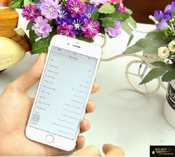 Hướng dẫn Test máy Iphone 6 cũ, cách chọn mua Iphone 6 đã qua sử dụng