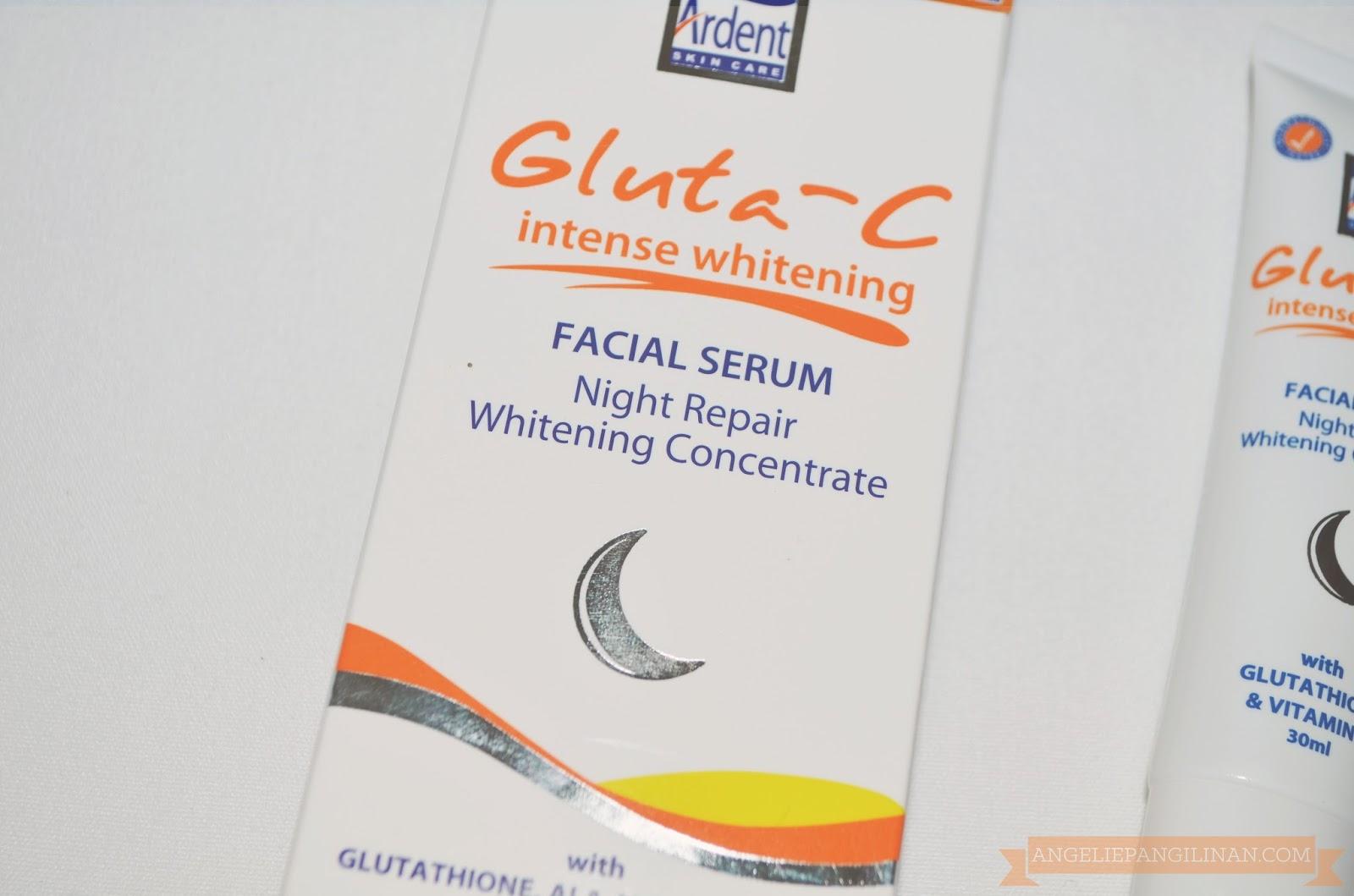 Gluta C Intense Whitening Facial Serum review