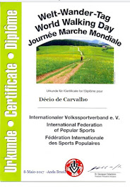 """Diploma """"Dia Mundial da Caminhada"""" 08/05/2017"""