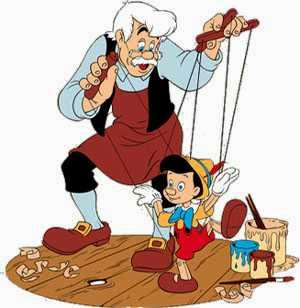 Geppetto, the puppet-master