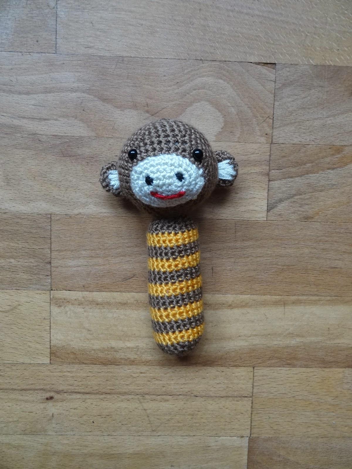 Małpka grzechotka dla Oskarka
