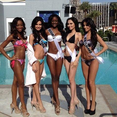 Miss Universe 2012: Fotos oficiales traje de baño