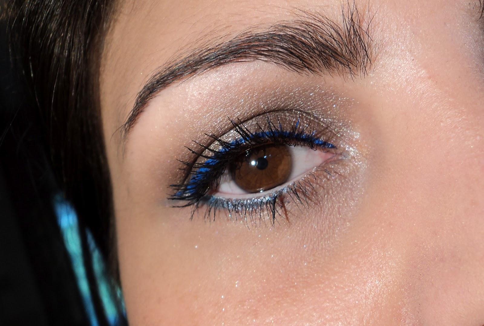 glitter your life fotd blauer eyeliner. Black Bedroom Furniture Sets. Home Design Ideas