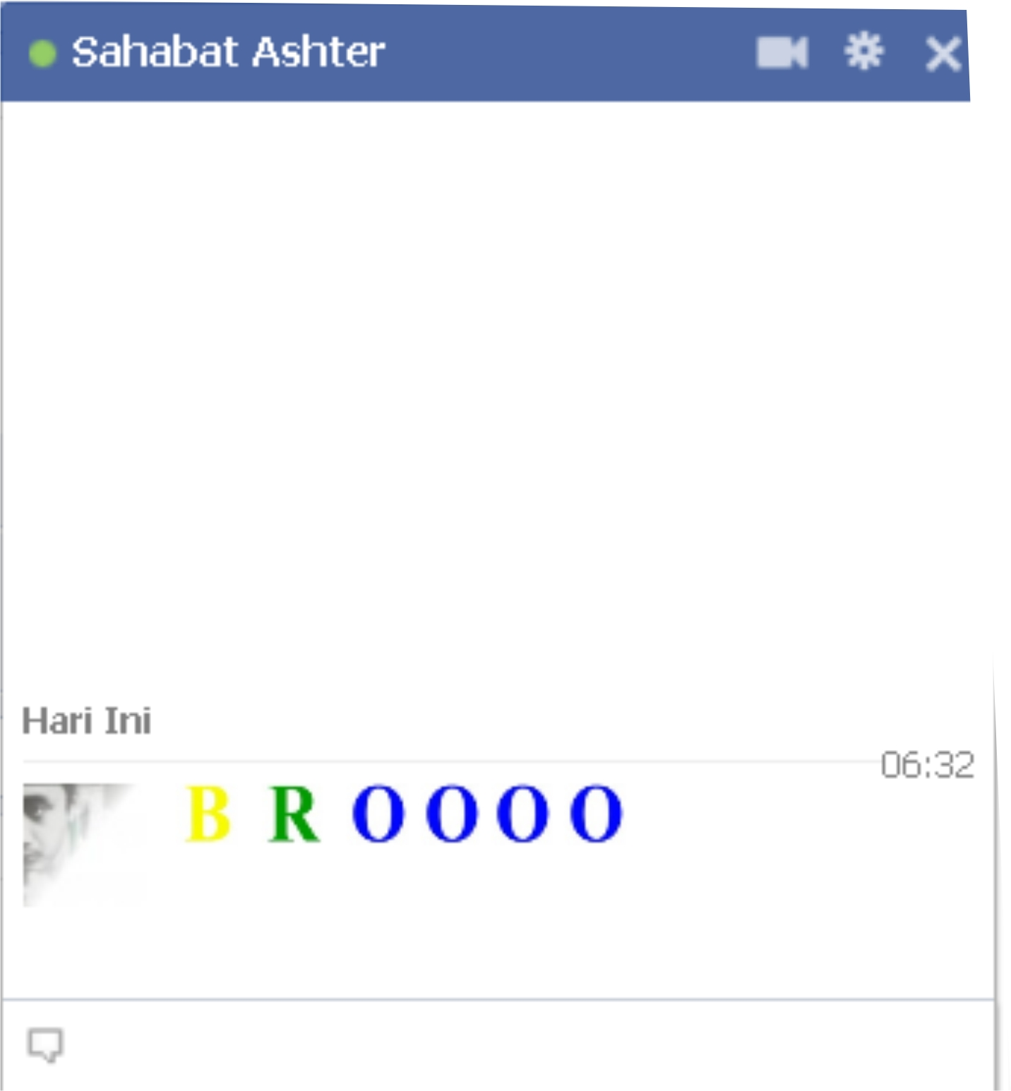 Cara Menulis Warna Warni Facebook Chating Di Chat
