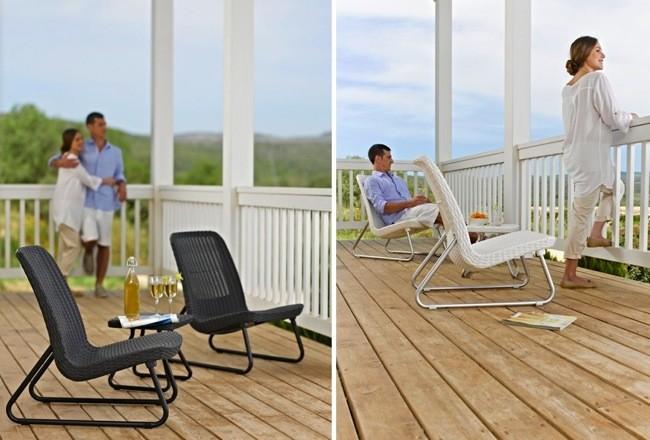 Marzua rio patio set muebles de exteriores para espacios for Muebles para jardin pequeno