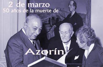 Recordamos a Azorín