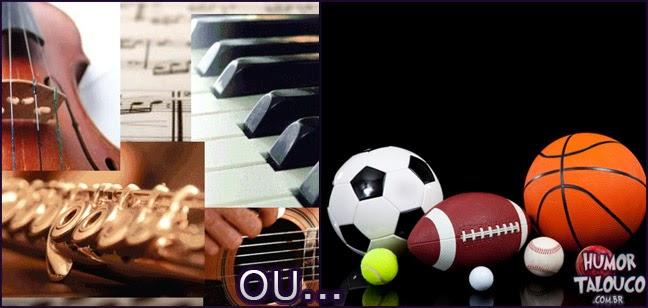 Saber tocar todos instrumentos ou manjar de todos os esportes ?