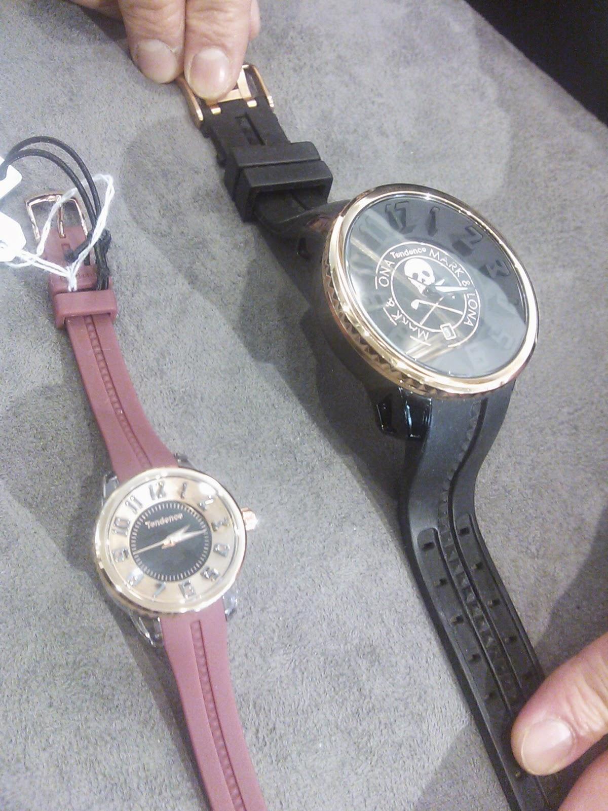 TENDENCE,腕時計