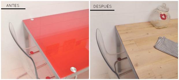 DIY ~ Mesa rústica de madera