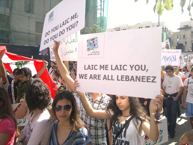 laïc me laïc you, we are all Lebaneez