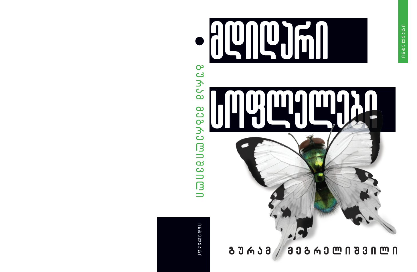"""ახალი წიგნი """"მდიდარი სოფლელები"""""""
