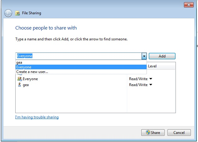Tutorial cara sharing data lewat kabel LAN di windows 7