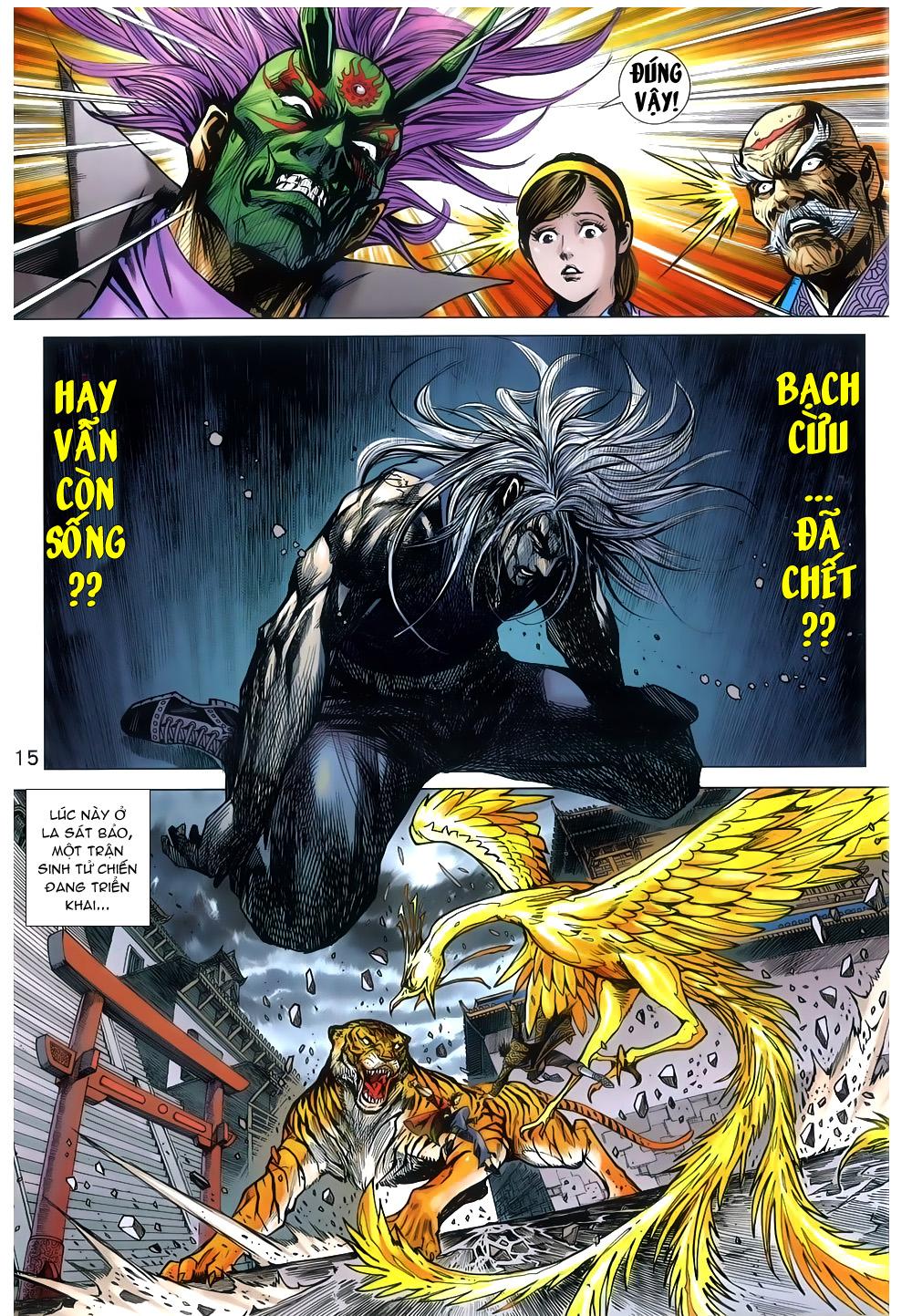 Tân Tác Long Hổ Môn chap 791 Trang 15 - Mangak.info