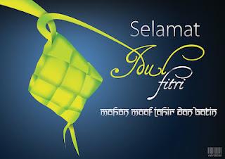 Kartu Lebaran Idul Fitri 1433 H Terbaru 2012