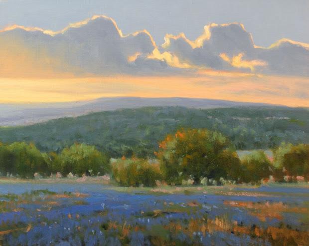 david forks - texas landscape painter