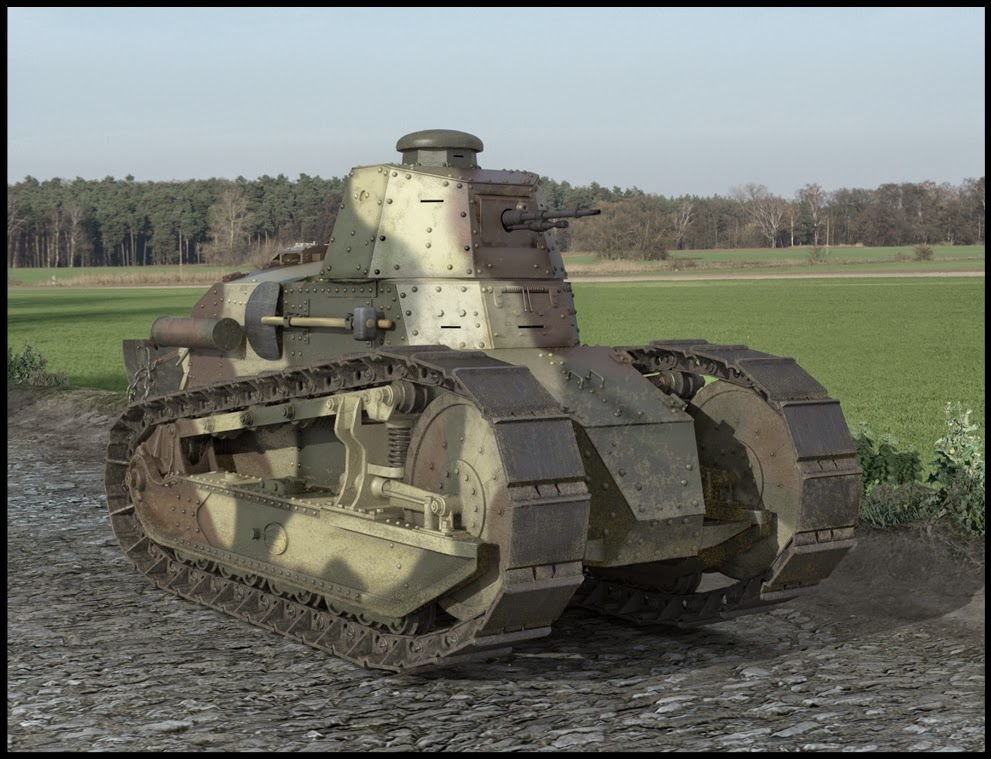 Stringbags And Rattleboxes Renault Ft 17