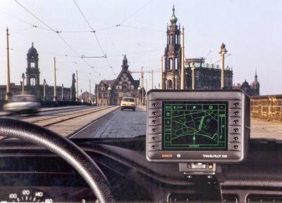 Bosch serbeaza 25 de ani de la introducerea in productia de serie a primului sistem de navigatie