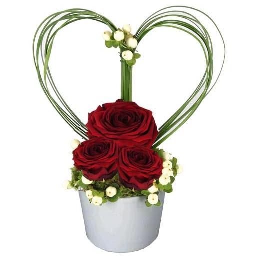 cadeau saint valentin des fleurs pour r chauffer les. Black Bedroom Furniture Sets. Home Design Ideas