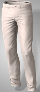"men's custom made chino pants with 40"" inseam"