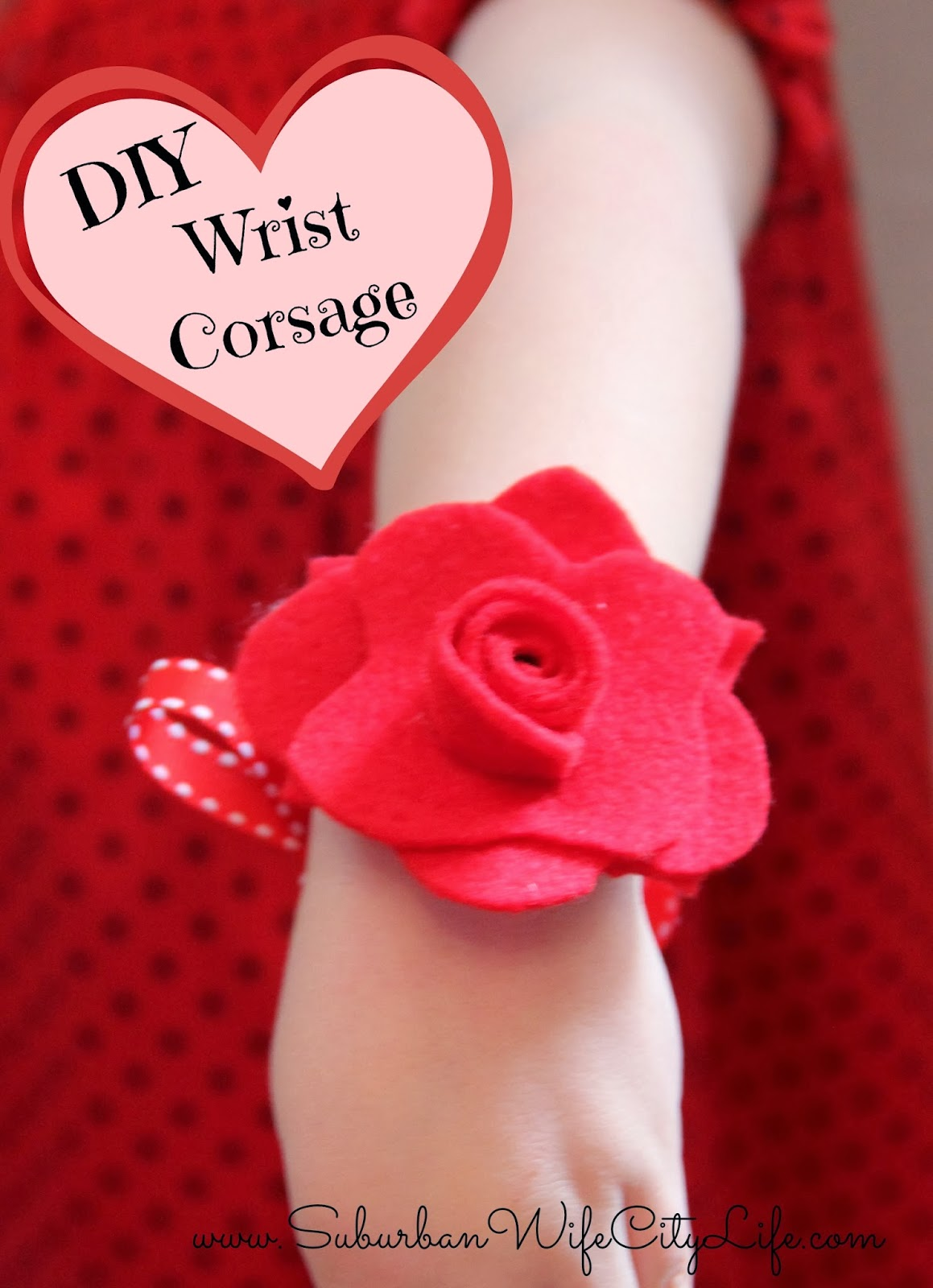 DIY - Valentine Flower Corsage