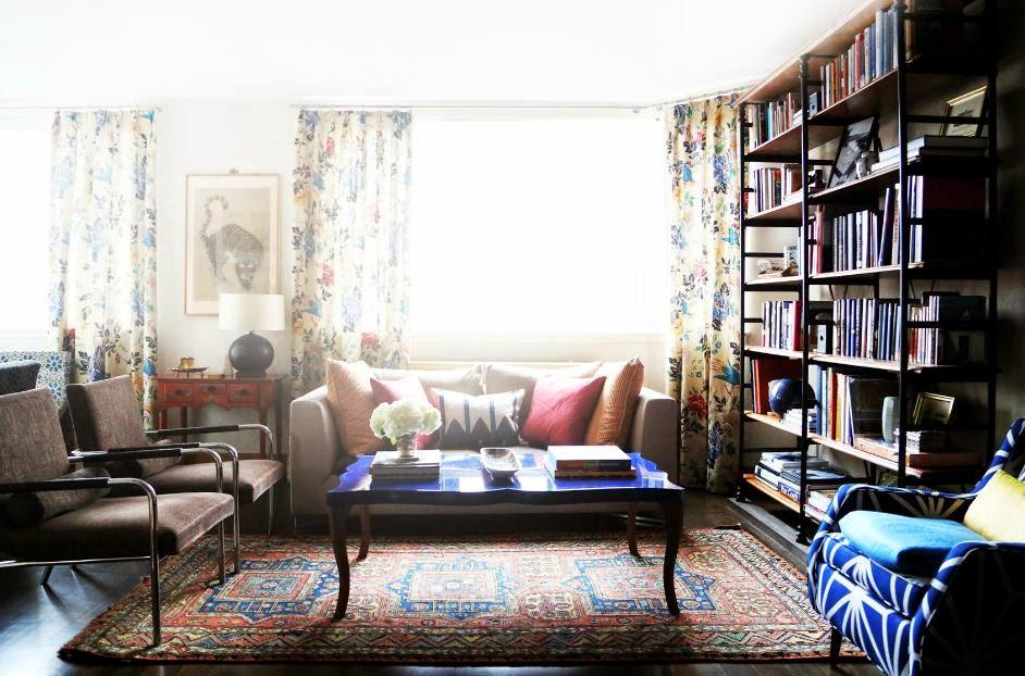 Vintage inspired living room