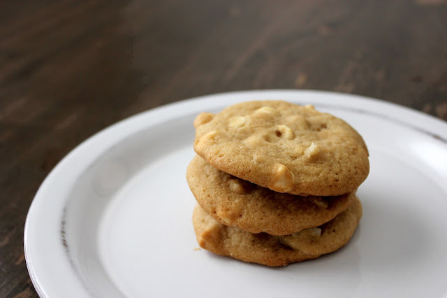 White Chocolate Macadamia Nut Cookies by freshfromthe.com