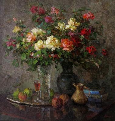 Моргун М, Розы. Последнее цветение, 2010
