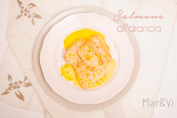 Ricetta salmone all'arancia