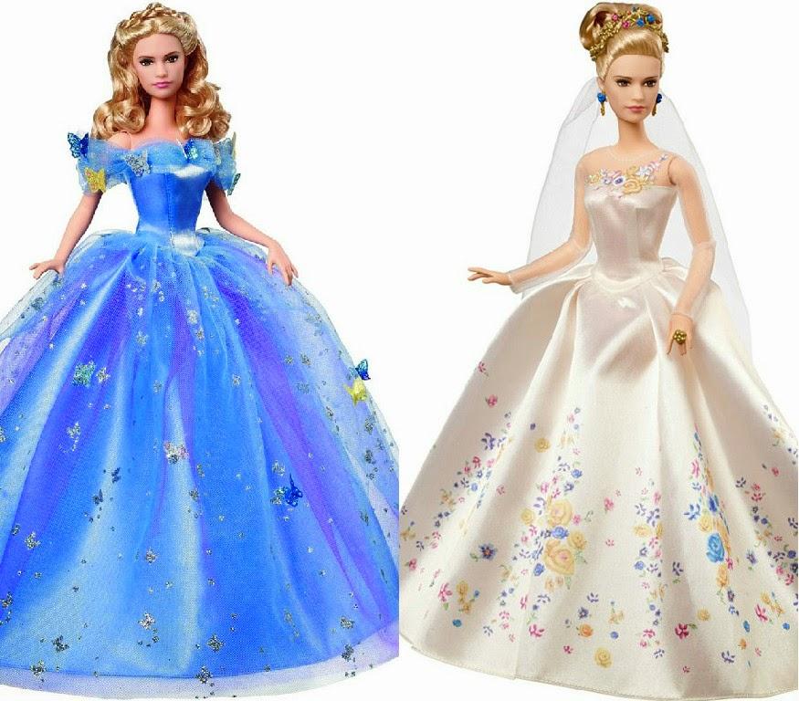 Barbie Mattel  Cinderela noiva e Vestido do baile