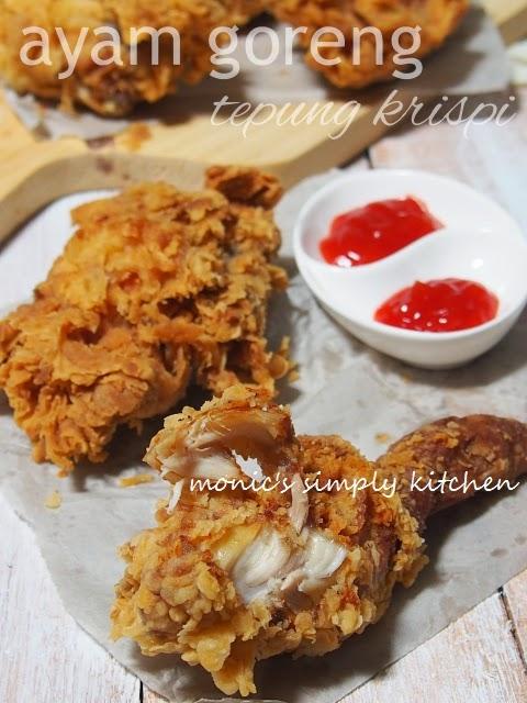 ayam goreng tepung kriuk
