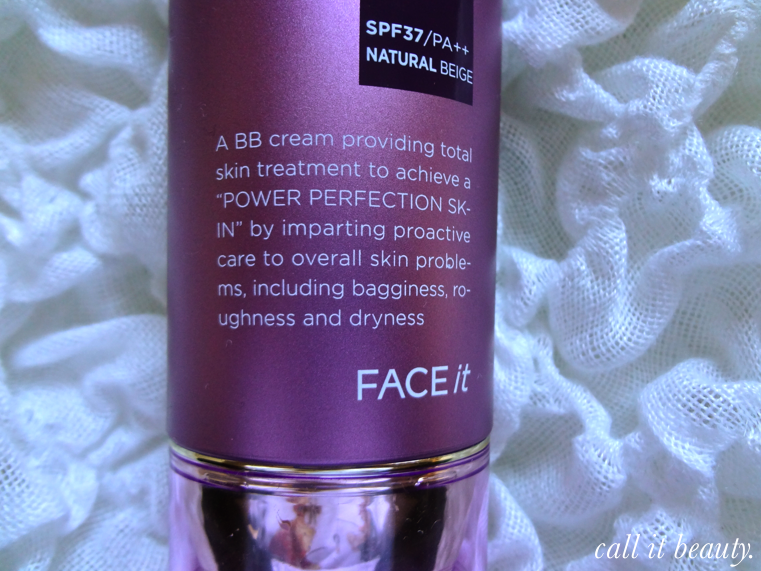 Call it beauty my introduction to bb creams the face for Bb shopping it