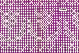 http://lacenribbonroses.blogspot.fr/2009/01/gingham-and-tulipschickenscratch.html