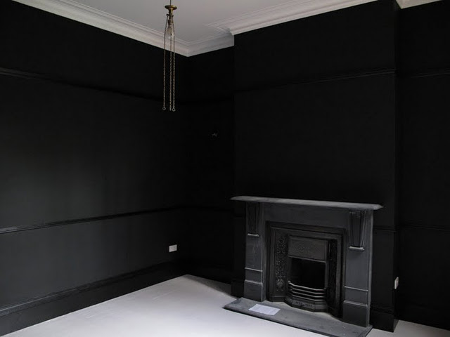 47 park avenue january 2012 - Painting a black wall white ...