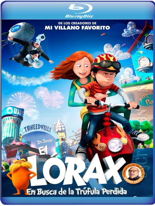 El Lórax: En Busca De La Trúfula Perdida (Español Latino) (BRrip) (2012)