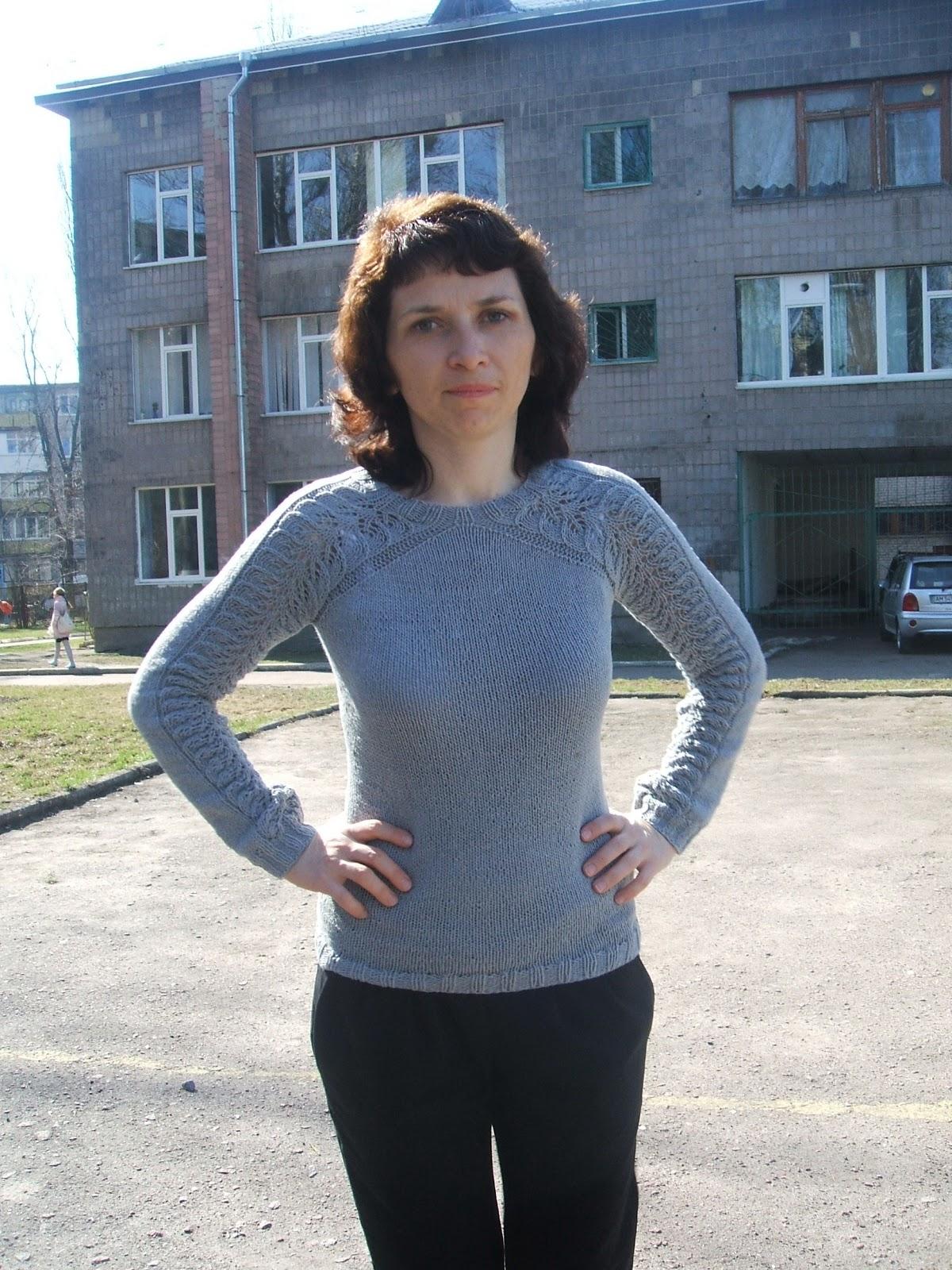 Пуловер для дочки от Светланы Волковой - Вяжем вместе 63