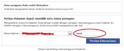 menyingkat url fanspage facebook