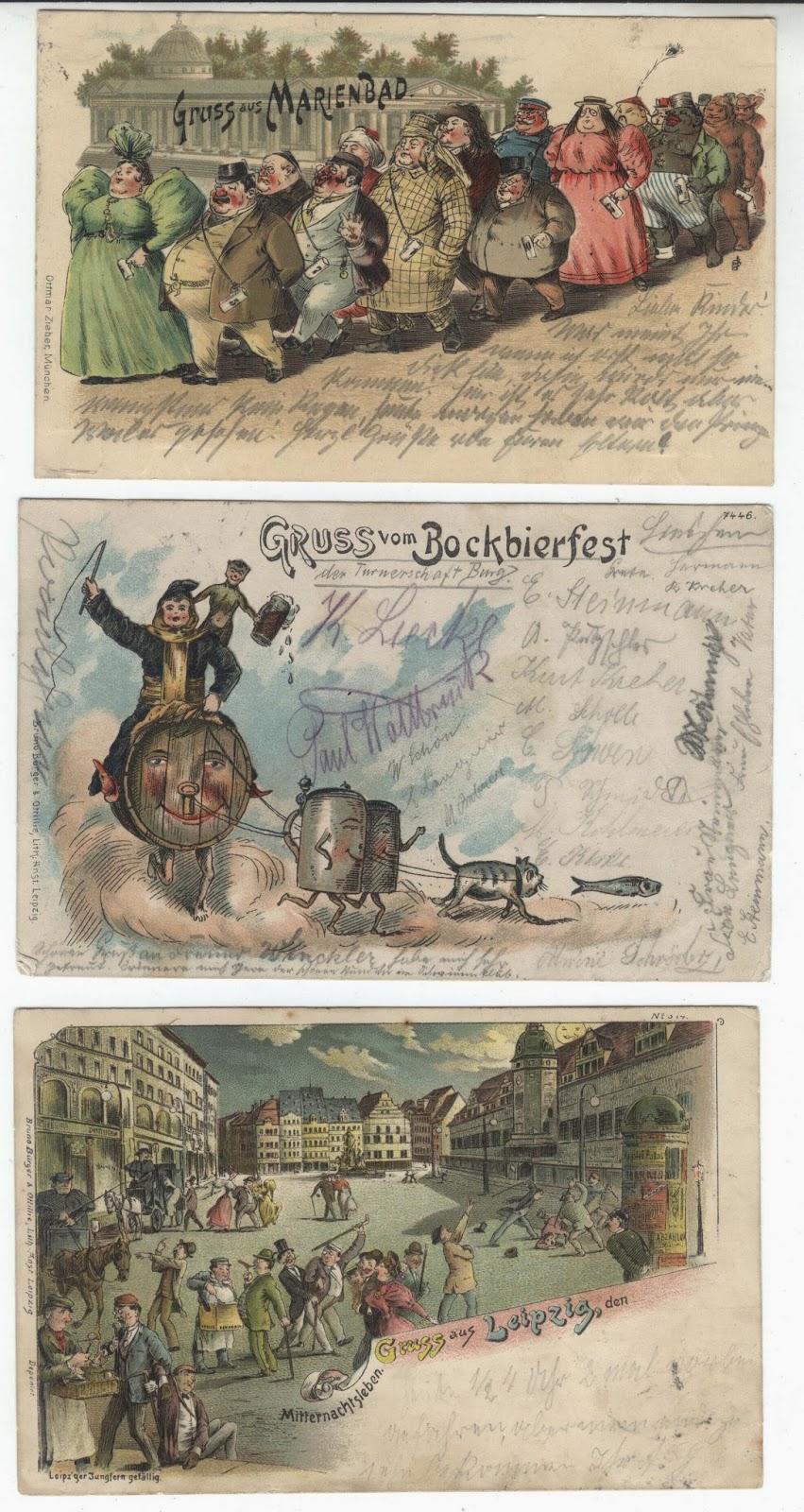 Postkarten Individuelle Motive & lustige Sprüche auf den