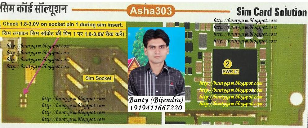 Nokia Asha 303 SIM Solution By BuntyGSM Mobile Repairing Institute