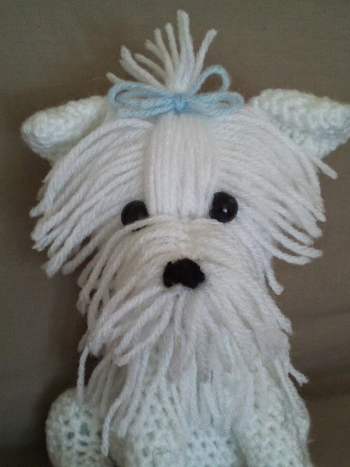 Maltese Crochet Patterns : Creative Crochet Designs: Crochet Maltese Terrier Amigurumi