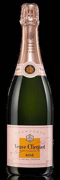 Veuve Clicquot Rose champagne