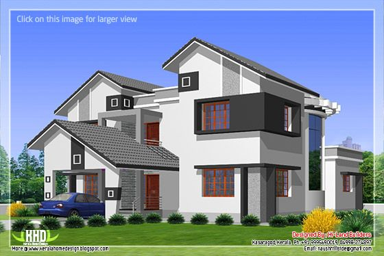 Villa elevation #1